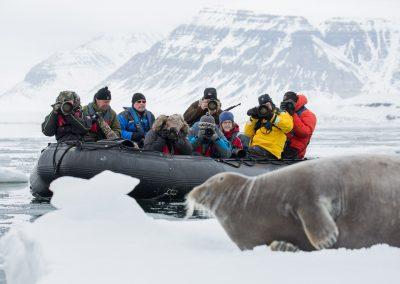 Zodiaktur i Svalbard