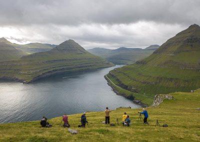 Vyer över Färöarna