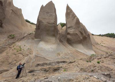Fragilt landskap i Kamchatka, Ryssland