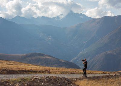 Fotostop i Anderna, Peru