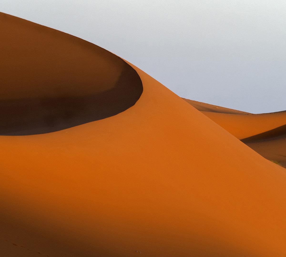 Marockos Ökenlandskap
