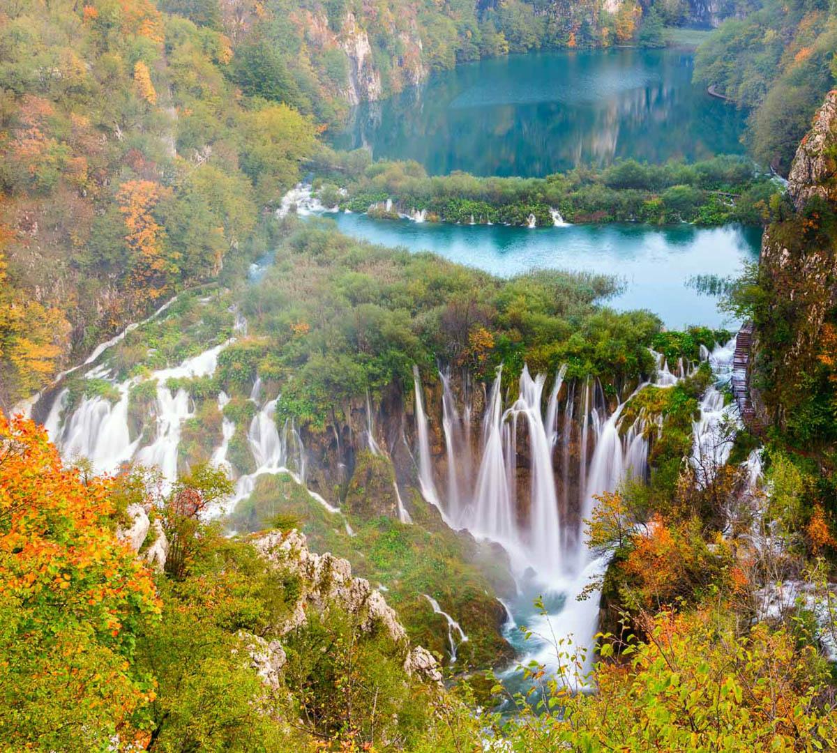 Kroatiens Sagolandskap