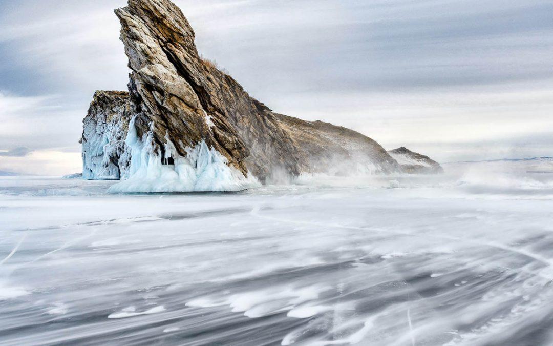 Bajkalsjöns Isformationer