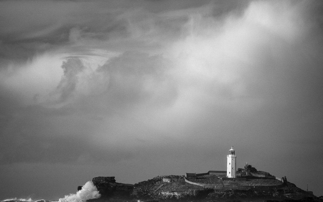 Cornwalls dramatiska landskap