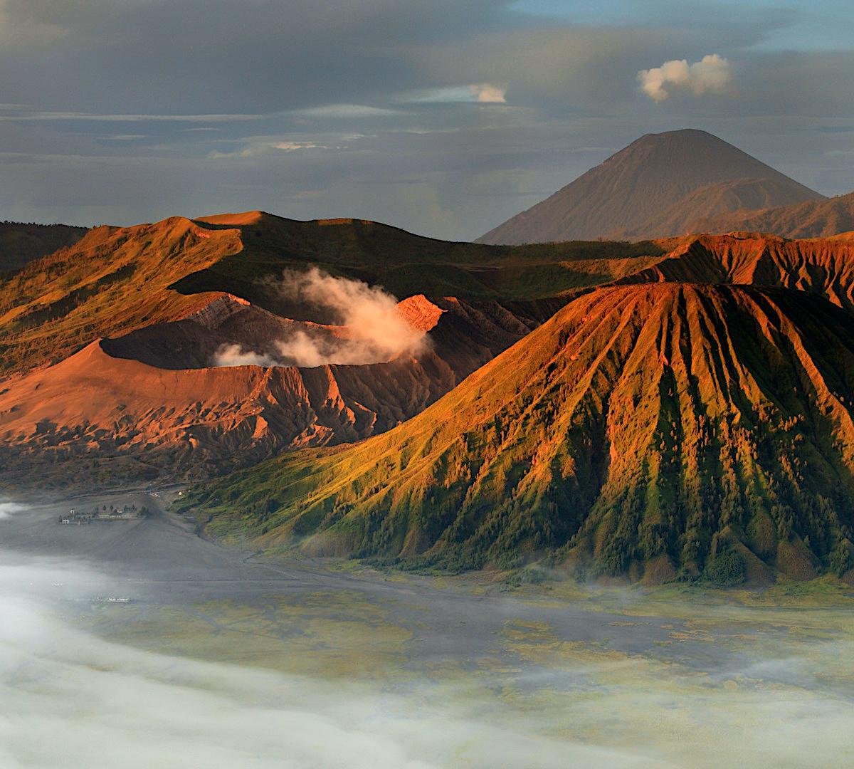 Vulkanernas och vattenfallens rike